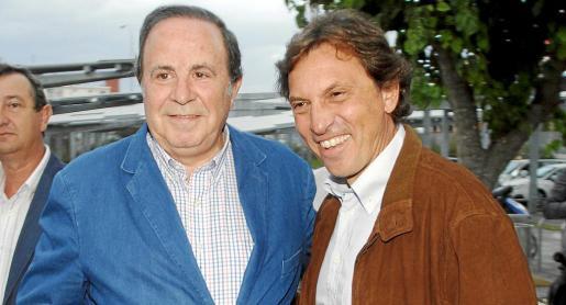 El presidente del PP palmesano, José María Rodríguez, en una foto de archivo junto al alcalde Isern. Las diferencias entre ambos han ido en aumento.