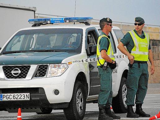 La Guardia Civil se desplegó por la urbanización de sa Planera.