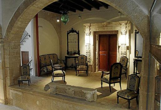 El edificio de Can Domènech es la sede del consorcio de la ciudad romana de Pol·lèntia.