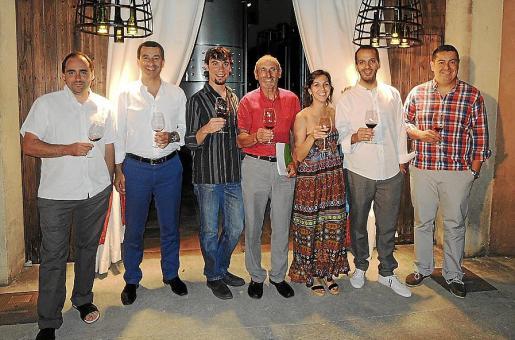 Andreu Oliver, Gabriel Company, Biel Fiol, Andreu Oliver, Irene Gili, Xavier Pericàs y Rafel Oliver.
