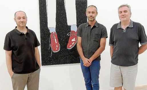 Tomeu Simonet, Xavi Muñoz y Biel Amer.