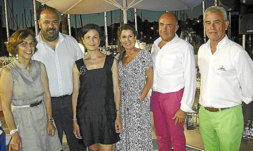 Ana Alvariño, Jaime Martínez, Emma López, María Albizuri, Suso Díaz y Paco Arenas.