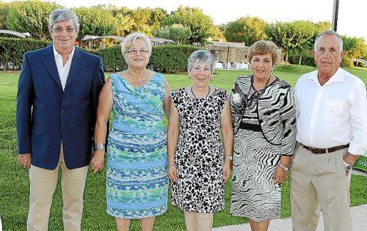 Pedro Gomis, Isabel Ramis, María Díaz, Ana Cirer y Miquel Jaume.