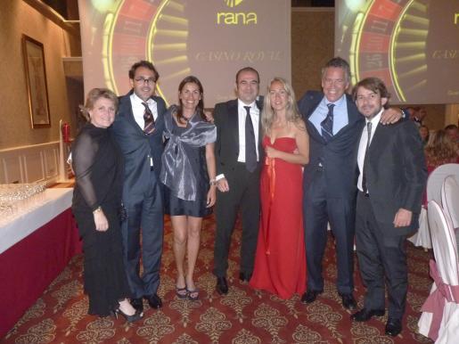 Seti de Luna, Lucas Viñals, Elena Ordiñaga, Gabriel Escarrer, Belén Puerto, Juan Carlos Rosselló y Juan Capllonch.