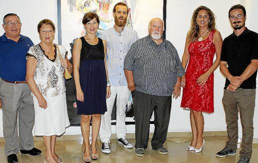 Paco Frau, Fina Frau, Maria José Frau, Lorenzo Martínez, Manuel Coronado, Rosa Vanrell y López Davis.