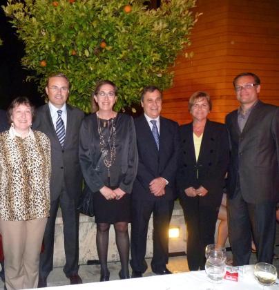 Francisca Garcías, Vicenç Torres, Joana Barceló, Francesc Sastre, Melchora Gómez y Llorenç Pou.