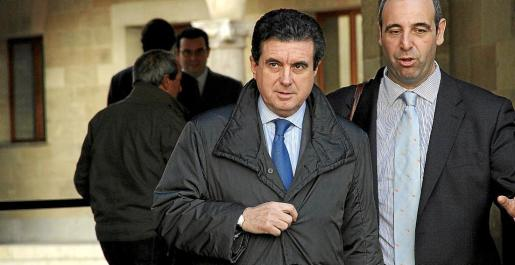 Matas, en la Audiencia Provincial, durante el juicio por el que fue condenado a nueve meses.