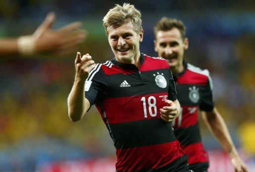 El jugador alemán ya está en Mallorca para disfrutar de sus merecidas vacaciones tras ganar el Mundial.