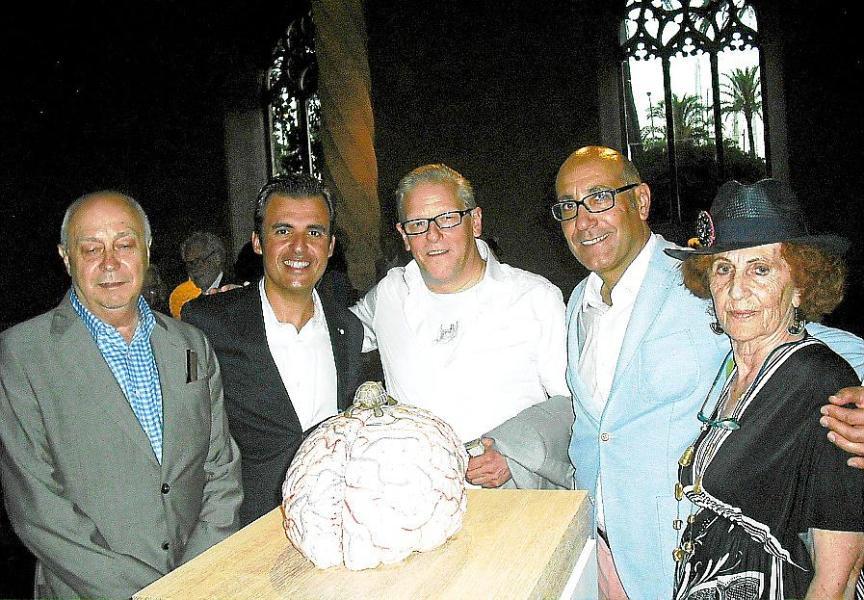 Jan Fabre inaugura 'Zeno Brains and Oracle Stones'