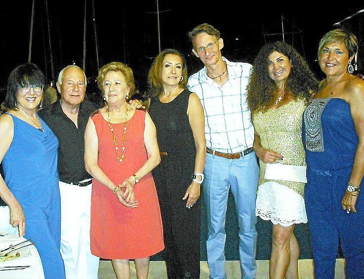 Fiesta de aniversario del Real Club Náutico de Palma
