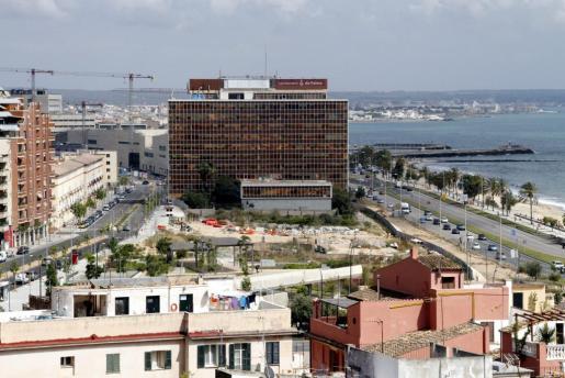 Vista general de la zona del edificio Gesa.