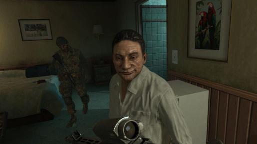 Manuel Noriega caracterizado en el viedojuego Call of Duty: Black Ops II.