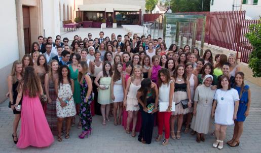 La promoción de alumnos graduados este año.