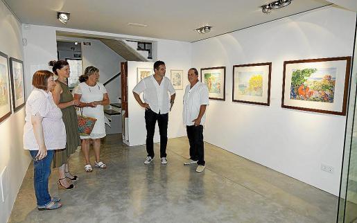 Este nuevo espacio para el arte en Pollença abrió el pasado jueves con trabajos de Sassu.