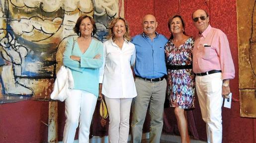 Maria Angels Peruchet, Cristina Estapé, Joan Bennàssar, Asunción Fusté y José Feliú.