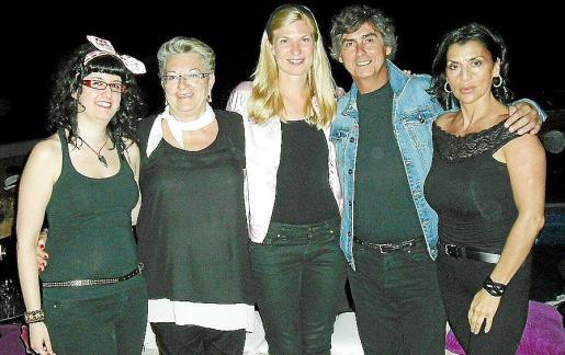 Anna Estefanell, Carmen Abad, Hylkema Fakje, Fernando Reyes y Enza Valentini.