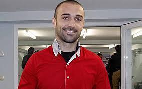 El futbolisa Cristian Bustos.