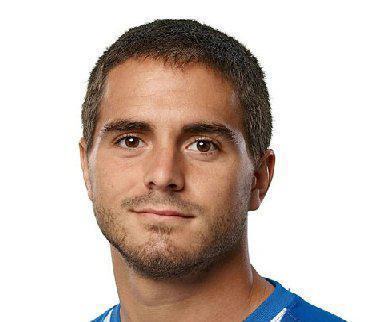 El centrocampista Javier Ros, en una fotografía de archivo.