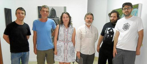 Tomeu Pons, Pere Alemany, Anna Vallespir, Àngel Pascual, Joan Gri y Joan Bestard.