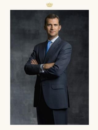 Fotografia facilitada por Patrimonio Nacional del retrato oficial del Rey Felipe VI.