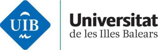 Nuevo logo de la Universitat de les Illes Balears.