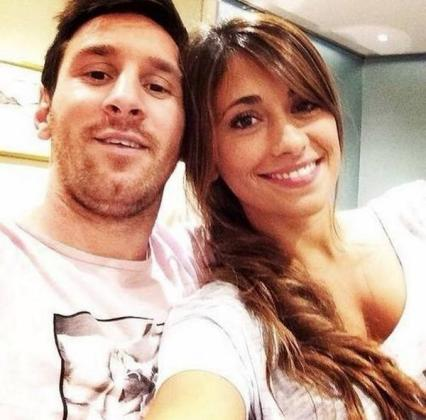 Leo Messi y su novia, Antonella Roccuzzo.