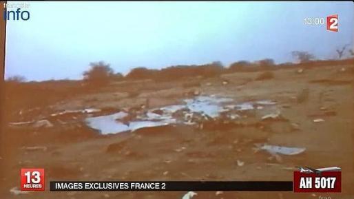 Lugar en el que se estrelló el avión de Air Algerie.