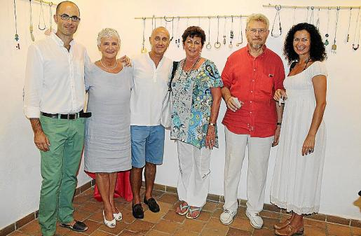 Ricardo Antequera, Cathy Sweeney, Javier Álvarez, Katheleen Sweeney, Jaume de Ribas y Beatriz Cárcamo.