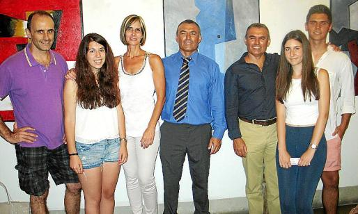 Xisco Amengual, Noelia Barca, Michela Lavezzo, Alejo y Arturo Muñoz, Ada Juárez y Juan Argüelles.