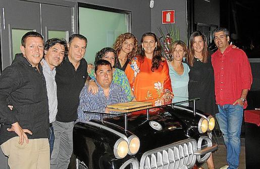 Paco Soler, Xavier Nolla, Kiko Soler, Guillem Ballester, Lolo Soler, Eva Perea, Raquel López, Ágatha Costa, Aina Reus y Pep Serra.