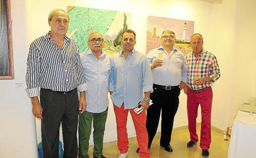 Matías Rabassa, Toni Bosch, Toni Arrom, Ramón Ruiz y Pep Torres.