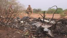 Accidente aéreo en Mali
