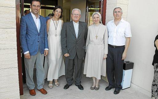 Jaume Juan, Margalida Payeras, Xavier Salinas, María Canel y Marc Carbonell.