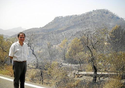 Bartomeu Deyà, gerente del Consorcio de la Serra de Tramuntana.