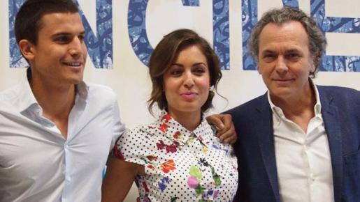 Álex González, Hiba Abouk y José coronado, tres de los actores de la existosa serie de televisión.