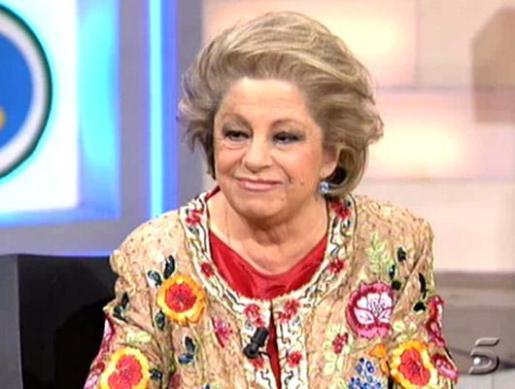 La periodista María Antonia Iglesias, en una aparición televisiva.