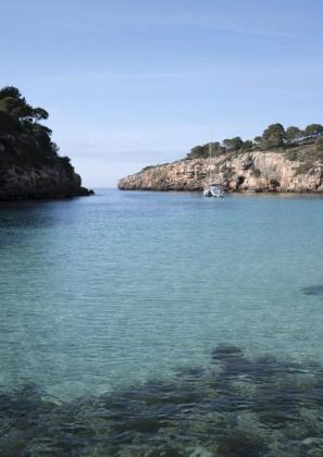 Cala Pi es una de las playas que se encuentran en Llucmajor.