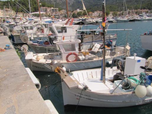 Imagen del muelle del Port de Sóller.