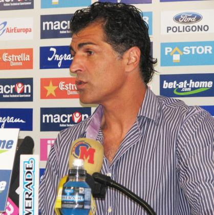PALMA. FUTBOL. Miquel Àngel Nadal, segundo entrenador del Real Mallorca en rueda de prensa.