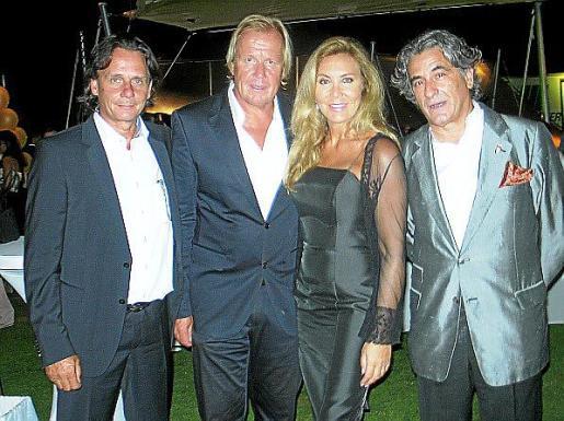 Bernd Werndl, Mathias Kühn, Norma Duval y Juan Buades.