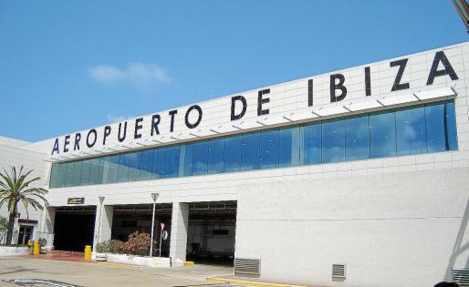 Imagen de archivo del aeropuerto de Eivissa.