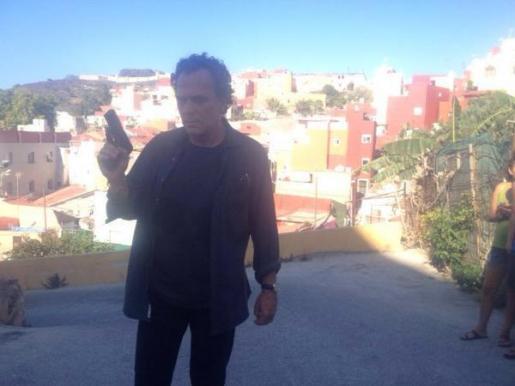 José Coronado publicó el viernes una foto en su cuenta de Twitter (@_josecoronado_) agradeciendo su buena acogida.