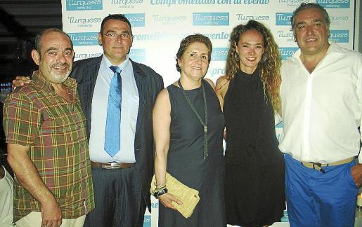 Alfons Moll, Saúl Martos, Isabel Sanz, Alice von Gayling y Alfonso Robledo.