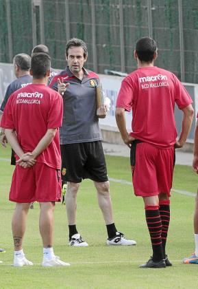 El entrenador del Real Mallorca, Miquel Soler.