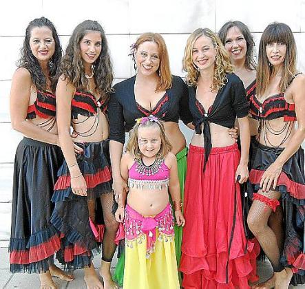 Marian Triay, Katia Barceló, María José Gual, Noelia López, Vanessa Barcia, Eva Montealegre y Marilén Garau.