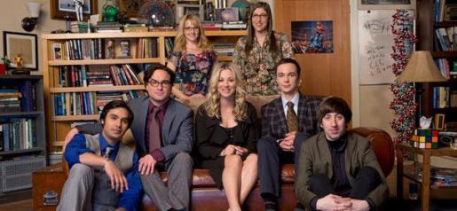 Imagen promocional de la serie 'The Big Bang Theory'.