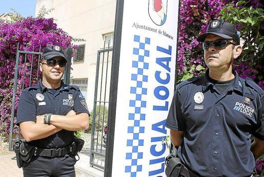 Andreu Alba y Llorenç Tortella son los policías tutores del municipio.