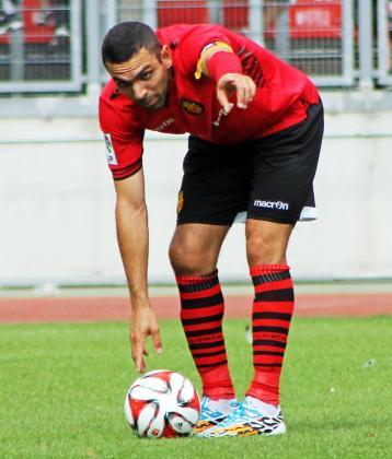 Partido amistoso de pretemporada entre Nuremberg y el Real Mallorca, (1-1) Joao Victor.