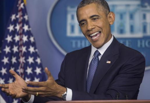 Foto de archivo de Barack Obama.