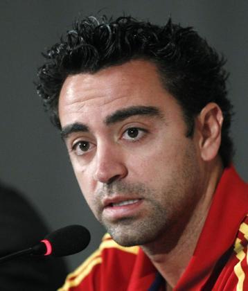 El jugador Xavi Hernández.